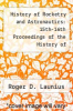 cover of History of Rocketry and Astronautics: 15th-16th Proceedings of the History of Astronautics Symposia 1981-1982