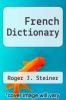 cover of French Dictionary