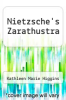 cover of Nietzsche`s Zarathustra