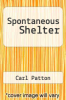 cover of Spontaneous Shelter