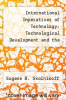 cover of International Imperatives of Technology: Technological Development and the International Political System