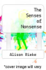 cover of The Senses of Nonsense