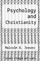 Cover of Psychology and Christianity EDITIONDESC (ISBN 978-0877847786)
