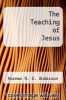 cover of The Teaching of Jesus