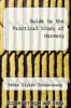 cover of Guide to the Practical Study of Harmony (2nd edition)