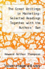 cover of The Great Writings in Marketing: Selected Readings Together with the Authors` Own Retrospective Commentaries (2nd edition)