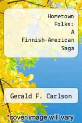 Cover of Hometown Folks: A Finnish-American Saga EDITIONDESC (ISBN 978-0878391158)