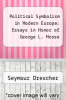 cover of Political Symbolism in Modern Europe: Essays in Honor of George L. Mosse