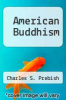 cover of American Buddhism