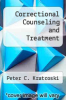 cover of Correctional Counseling and Treatment
