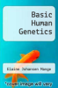 cover of Basic Human Genetics (1st edition)