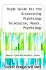 cover of Study Guide for the Discovering Psychology Telecourse, Myers, Psychology (4th edition)