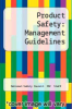 cover of Product Safety: Management Guidelines