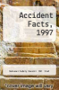 cover of Accident Facts, 1997