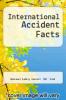 cover of International Accident Facts (2nd edition)