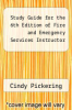 cover of Study Guide for the 6th Edition of Fire and Emergency Services Instructor