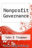 cover of Nonprofit Governance