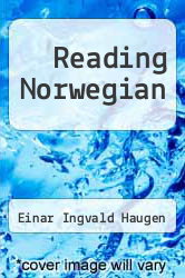 Cover of Reading Norwegian EDITIONDESC (ISBN 978-0879501723)