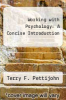 cover of Working with Psychology: A Concise Introduction (2nd edition)