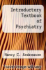 cover of Introductory Textbook of Psychiatry (3rd edition)