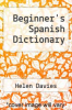 cover of Beginner`s Spanish Dictionary