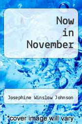 Cover of Now in November EDITIONDESC (ISBN 978-0881841749)