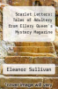 cover of Scarlet Letters: Tales of Adultery from Ellery Queen`s Mystery Magazine