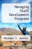 cover of Managing Staff Development Programs