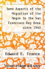 cover of Some Aspects of the Migration of the Negro to the San Francisco Bay Area since 1940