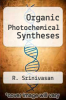 cover of Organic Photochemical Syntheses