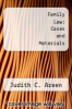 cover of Family Law: Cases and Materials (2nd edition)