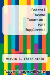 Cover of Federal Income Taxation: 1987 Supplement 4 (ISBN 978-0882775654)