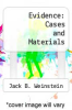 cover of Evidence: Cases and Materials (8th edition)