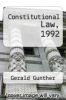 cover of Constitutional Law, 1992 (12th edition)