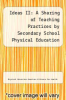 cover of Ideas II: A Sharing of Teaching Practices by Secondary School Physical Education Practitioners