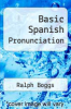 cover of Basic Spanish Pronunciation