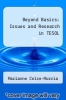 cover of Beyond Basics: Issues and Research in TESOL