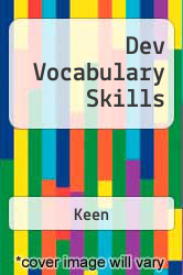 Cover of Dev Vocabulary Skills EDITIONDESC (ISBN 978-0883772928)