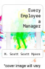 cover of Every Employee a Manager (3rd edition)