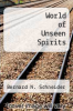 cover of World of Unseen Spirits