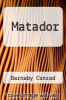 cover of Matador (2nd edition)