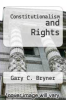 cover of Constitutionalism and Rights