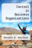 cover of Control in Business Organizations