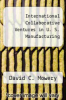 cover of International Collaborative Ventures in U. S. Manufacturing