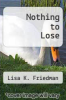 cover of Nothing to Lose