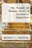 cover of The Thought of Jacques Ellul: A Systematic Exposition