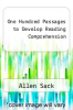 cover of One Hundred Passages to Develop Reading Comprehension