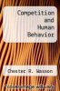 cover of Competition and Human Behavior