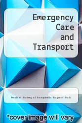 Cover of Emergency Care and Transport 6 (ISBN 978-0892031368)