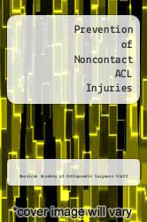 Cover of Prevention of Noncontact ACL Injuries 1 (ISBN 978-0892032600)